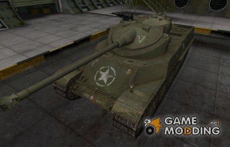 Исторический камуфляж AMX 50 100 for World of Tanks
