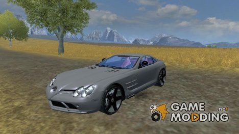 Mercedes-Benz SLR McLaren Fixed для Farming Simulator 2013