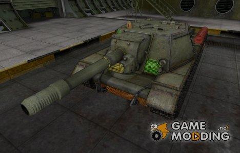 Зона пробития СУ-152 для World of Tanks