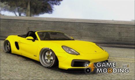 Porsche Boxter GTS L3DWork's for GTA San Andreas