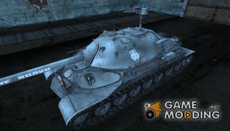 шкурка для ИС-7 от клана Сибирские волки для World of Tanks