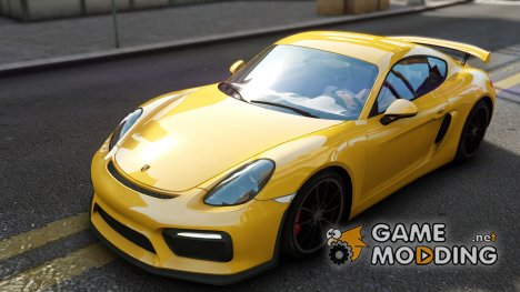 2015 Porsche Cayman GT4 for GTA 4
