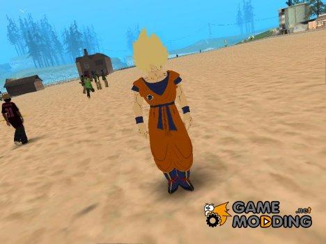 Goku SSJ1 для GTA San Andreas