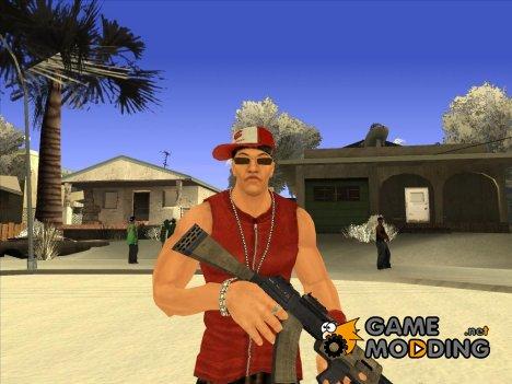 Skin Chiang Def Jam Rapstar для GTA San Andreas