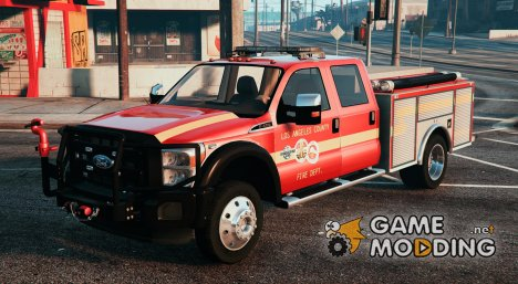 2013 Ford F350 Brush Truck for GTA 5