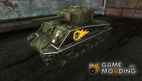M4A3E8 Sherman Arche for World of Tanks