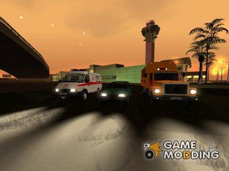 Пак машин произведённых в странах бывшего СССР for GTA San Andreas