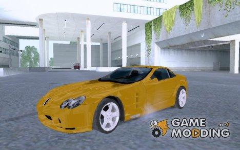 Mercedes-Benz SLR v1.2 for GTA San Andreas