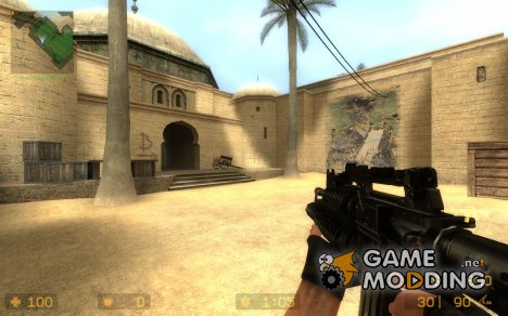 Default M4a1 + M203 для Counter-Strike Source
