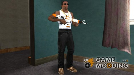M4A1 Asiimov Orange для GTA San Andreas