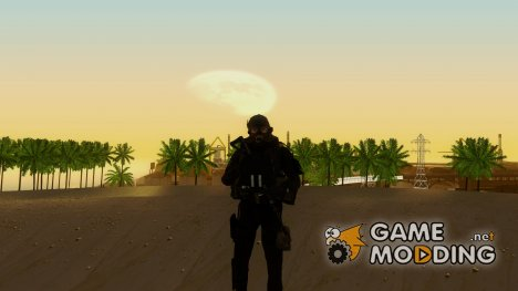 Modern Warfare 2 Soldier 9 для GTA San Andreas
