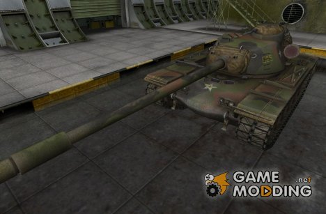 Ремоделинг для танка T110E5 for World of Tanks