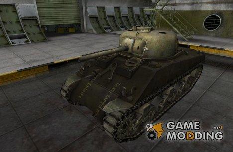 Remodel M4 Sherman (+skin) for World of Tanks