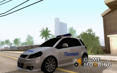 Suzuki SX4 Policija Srbija для GTA San Andreas