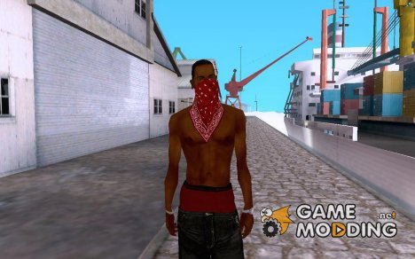 Crenshaw Boulevard Blood for GTA San Andreas