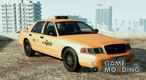 NYPD CVPI Undercover Taxi for GTA 5