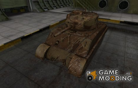 Американский танк M4A3E2 Sherman Jumbo for World of Tanks