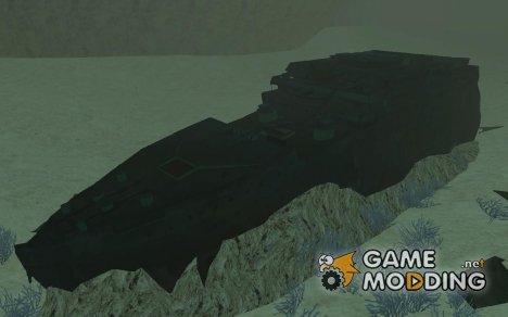 """Затонувший """"Титаник"""" для GTA San Andreas"""