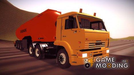 Камаз 260 Turbo Огнеопасно for GTA San Andreas