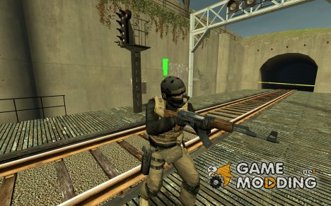 MGS 4 PMC Soldier for Counter-Strike Source