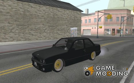 BMW E-30 Coupe Brenner Black for GTA San Andreas