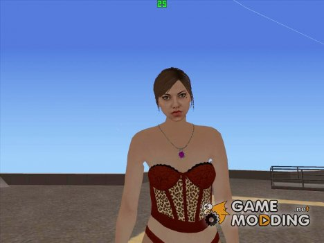 Female GTA V Online (Be My Valentine) для GTA San Andreas