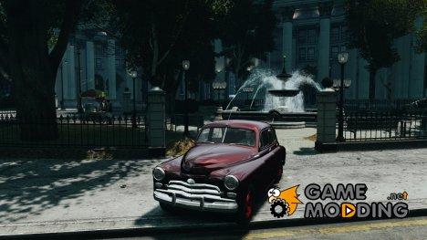 ГАЗ M20V Победа American 1955 v1.0 для GTA 4