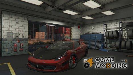 2009 Ferrari 458 Italia 2.3 for GTA 5