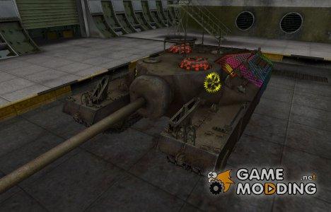 Качественные зоны пробития для T95 для World of Tanks