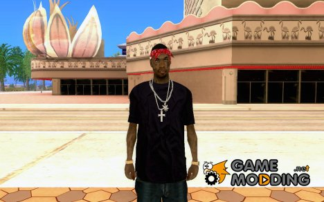 Новый скин на замену ballas2 для GTA San Andreas