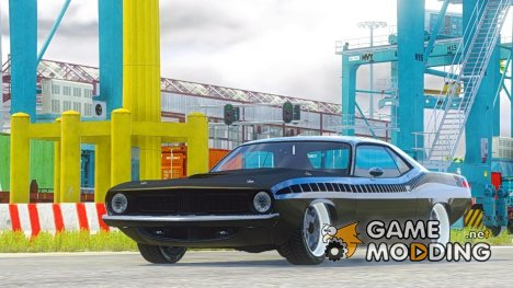 Plymouth Barracuda - Fast 7 1.0 for GTA 5