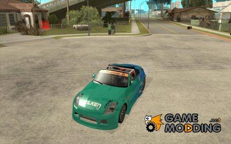Nissan 350Z Falken Tire for GTA San Andreas