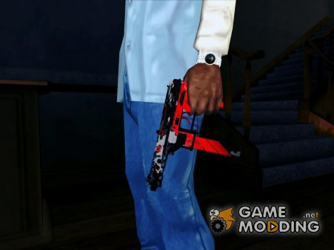 Tec-9 Neural CS GO Red для GTA San Andreas