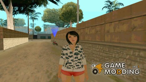 Красивая девушка v2 for GTA San Andreas