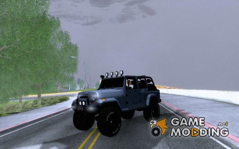 Jeep Rangler Rubicon Unlimited Convertible для GTA San Andreas