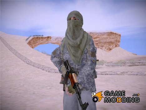 MW2 Arabian Sniper Сity for GTA San Andreas