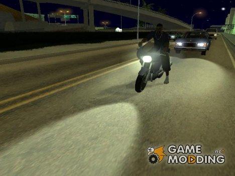 Новые эффекты for GTA San Andreas
