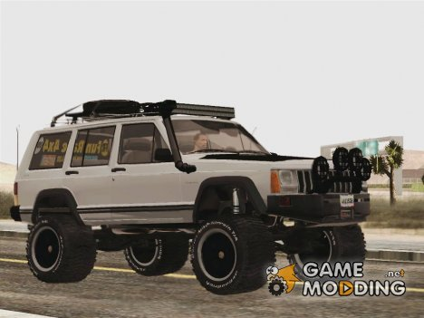 Jeep Cherokee 1998 Off Road 4x4 для GTA San Andreas