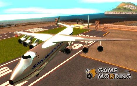 Антонов Ан-225 Мрия for GTA San Andreas