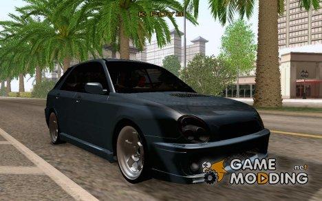Subaru Impreza WRX Wagon для GTA San Andreas