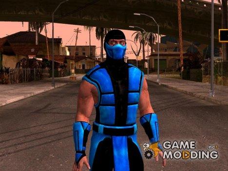Mortal Kombat X Klassic Sub-Zero UMK3 for GTA San Andreas