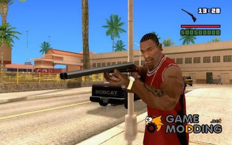 New Chromegun - Double-barreled gun для GTA San Andreas