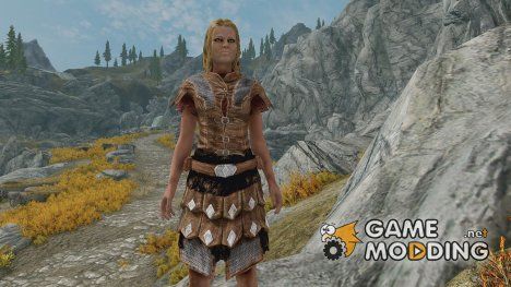 Craftable Studded Imperial Armor для TES V Skyrim
