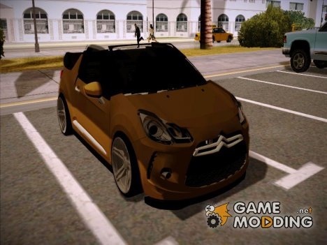 Citroen DS3 Convertible for GTA San Andreas