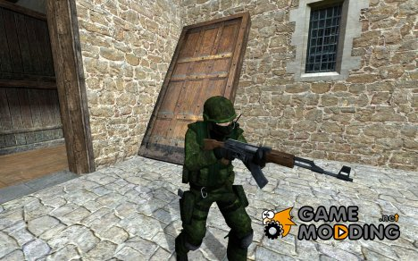 Forest Urban CadPat для Counter-Strike Source