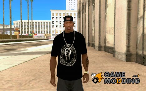 Black футболка для CJ for GTA San Andreas