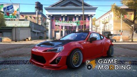 Toyota GT86 RocketBunny для GTA 4