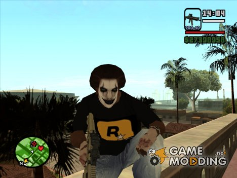 Crow make up for GTA San Andreas