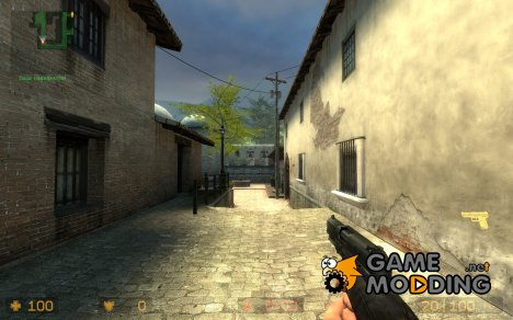 CSS Fiveseven retextured for Counter-Strike Source