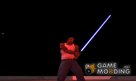 Световой меч Оби-Вана Кеноби for GTA San Andreas
